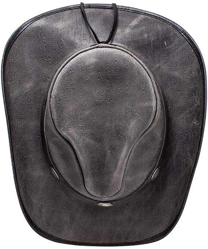 American Hat Makers Cyclone-Buffalo Band by Double G Hats Western Cowboy Leather Hat