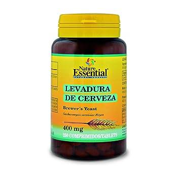 Levadura de cerveza 400 mg. 250 comprimidos: Amazon.es: Salud y cuidado personal