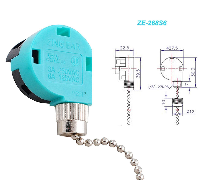 Ceiling Fan 3 Speed Switch Wiring Diagram