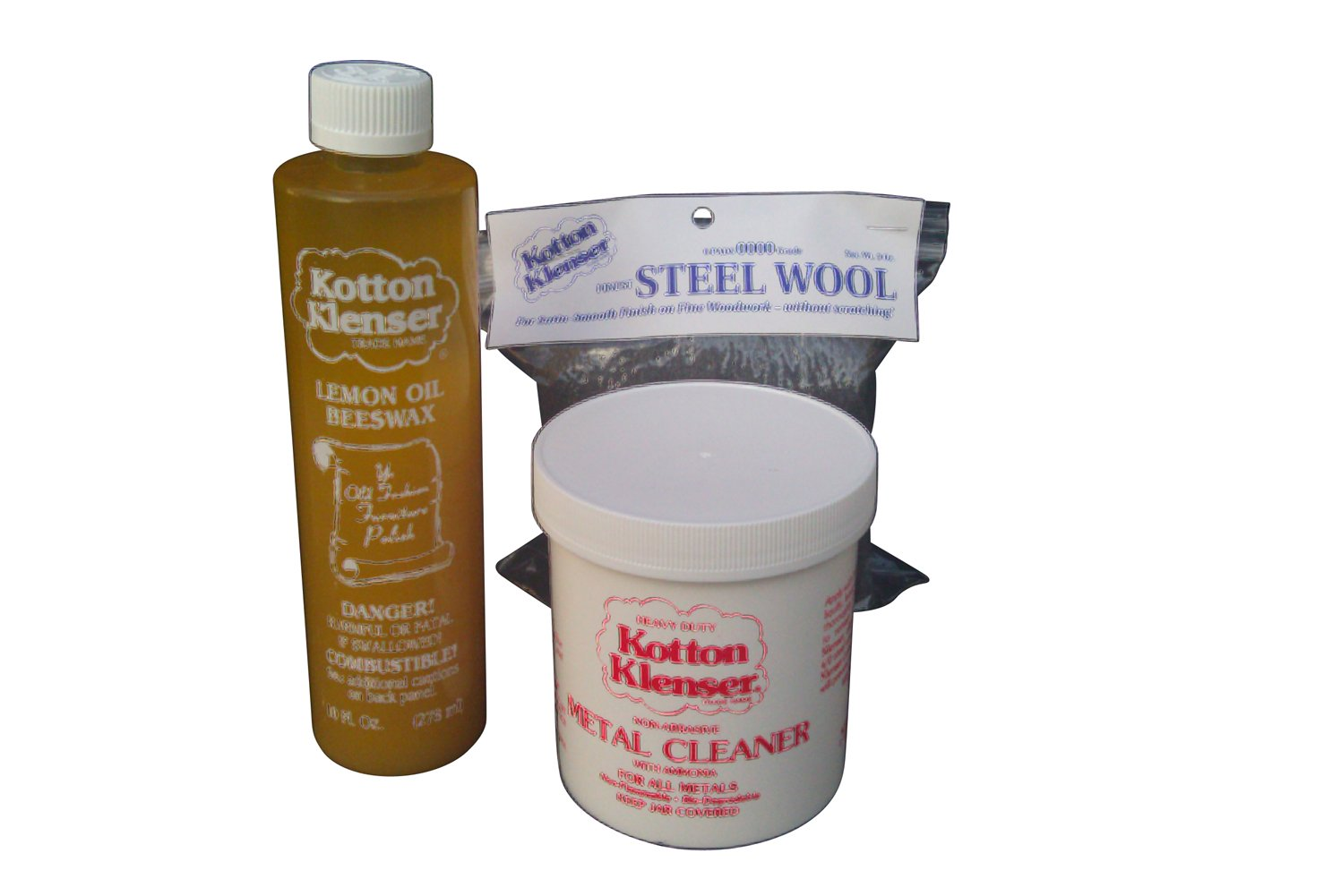 Kotton Klenser Metal Cleaning Kit