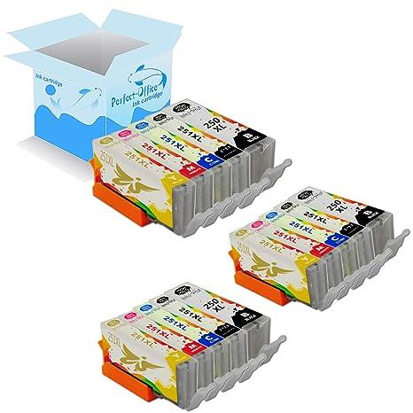 Amazon.com: Perfect-Office - Paquete de 5 cartuchos de ...