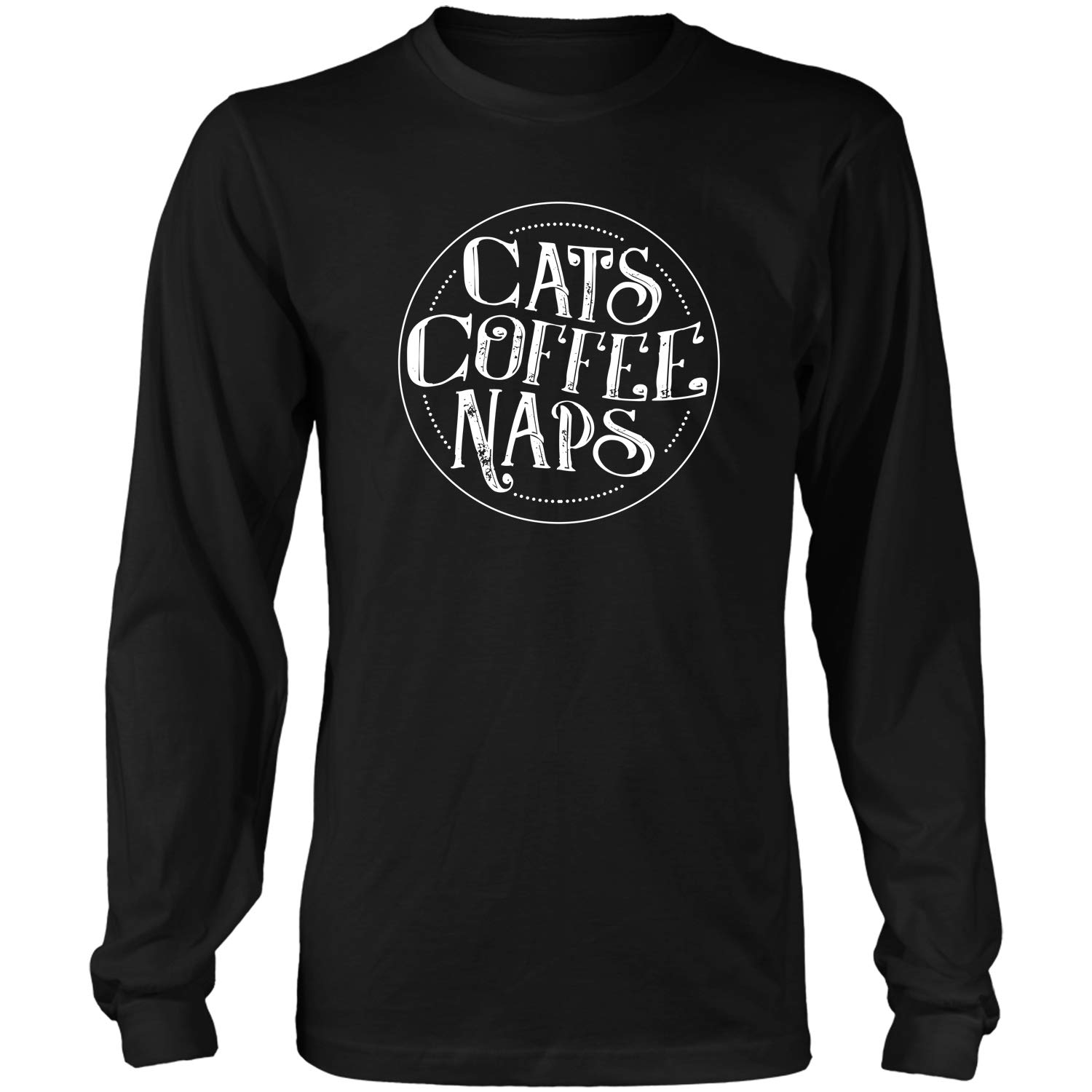 Cats Coffee Napsbirthday Gifts For Pet Loverscute Cat Lov Tshirt