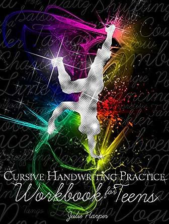 Cursive Handwriting Practice Workbook for Teens - Kindle edition ...