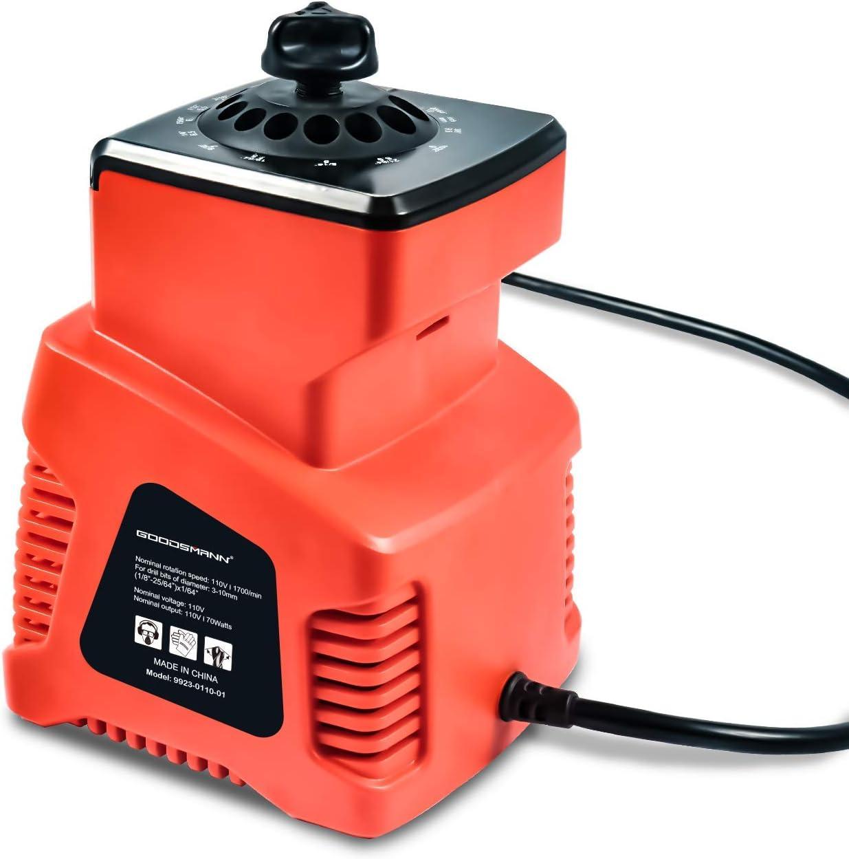 SILVERLINE 95 W Perceuse électrique HSS Bit Sharpener Affûtage Outil Bits 3-10 mm New
