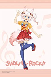 SHOW BY ROCK!! 描き下ろしイラスト ほわん ヘッドフォンver. タペストリー