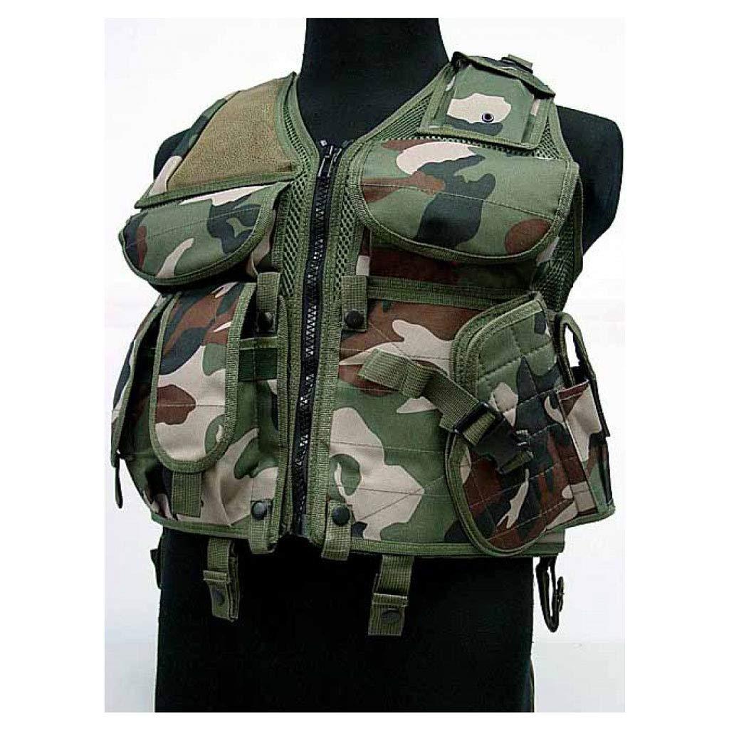 BX-XX-Taktische Weste Multifunktionale Kampfweste, atmungsaktive Trainingsschutzkleidung CS-Anzug Outdoor-Weste Outdoor