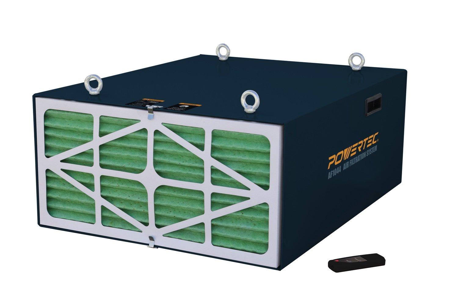 POWERTEC AF1044 3SPD Air Filtration System, 556/702/1044-CFM by POWERTEC