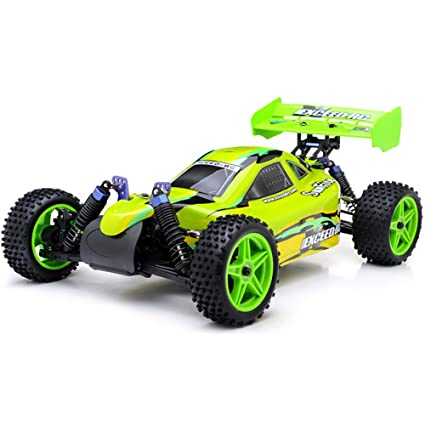 Exceed RC 1/10 2 4Ghz Electric SunFire RTR Off Road Buggy (Baha Green)