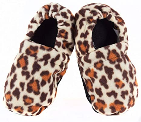 Zapatillas con calefacción para ir en el microondas