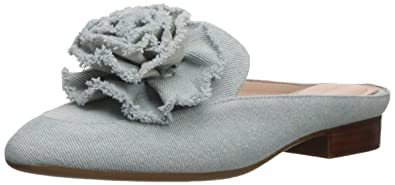 cef7430568d Amazon.com  Taryn Rose Women s Blanche Denim Mule  Shoes