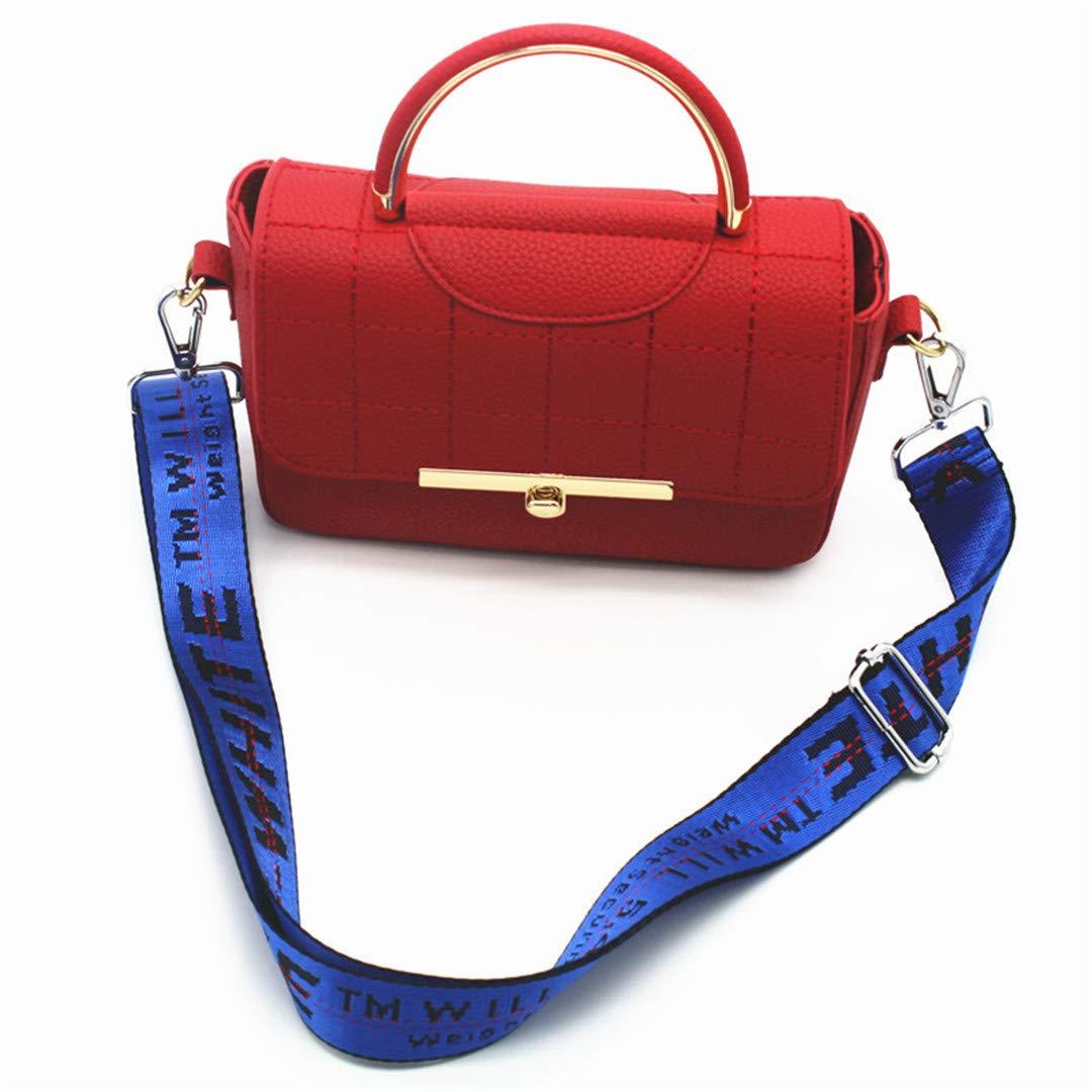 3.8Cm Wide Shoulder Straps Bags Belt Nylon Ribbon Woven Design Strap For Handbag Adjustable Messenger Tape Bag Handle KZ151307 Purple Gold Buckle