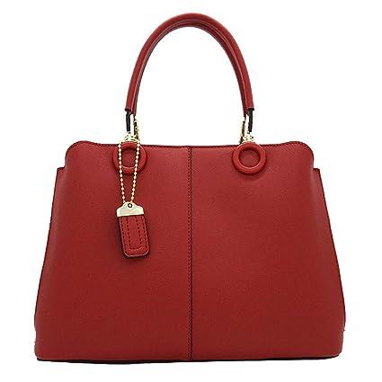 fcd0ae53bf10c Amazon.com   Lxf20 Women s Bag Kelly Bag PU Handbags Large-capacity ...