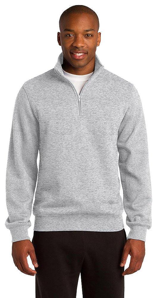 Sport-Tek Mens 1//4-Zip Sweatshirt