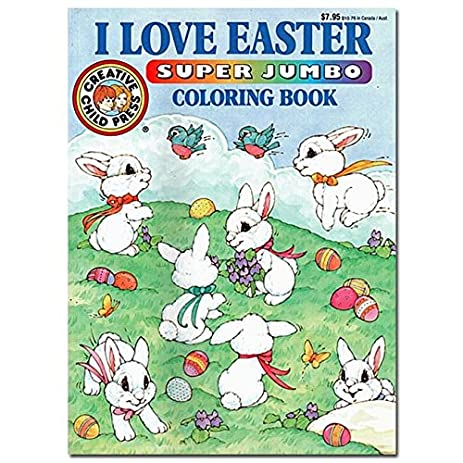 I Love Easter Coloring Book