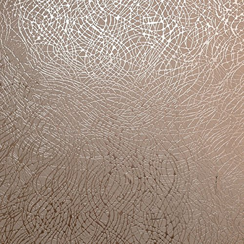 Gold Foil Wallpaper - Foil Swirl Wallpaper Rose Gold Arthouse 294101