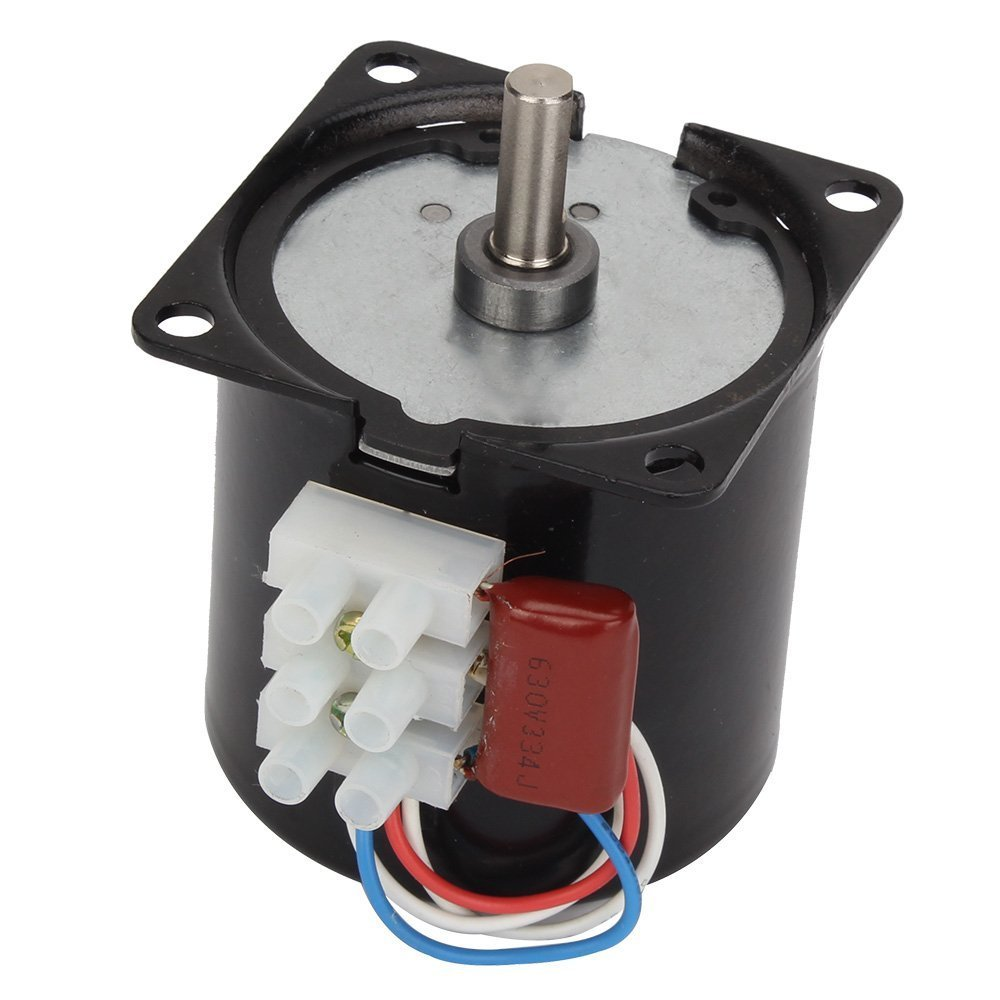 DN 220V AC 5RPM Powerful High Torque Gear Box Synchronous Electric Motor 70mA 50HZ