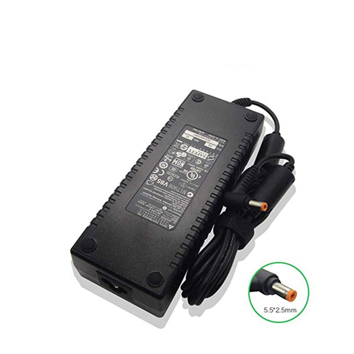 AAS 19V 7.1A 135W 5.5 X 2.5mm AC Charger Compatible With Acer Aspire 8940G 9800 9810 9920G ADP-135FB B ADP-135FB F PA-1131-07 Laptop Adapter