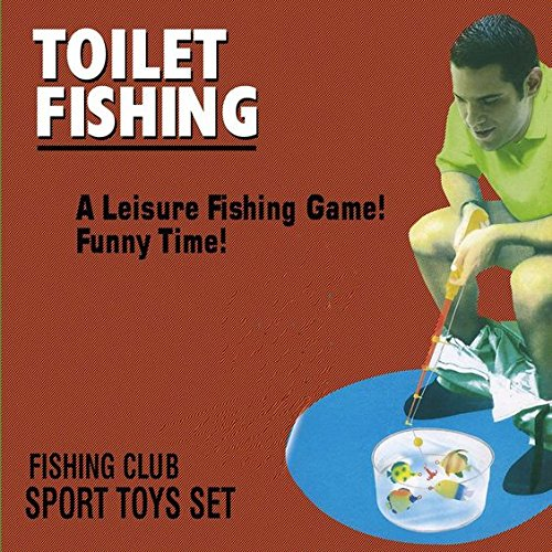 FURURU Toilet Fishing Game, Toilet Bathroom Fishing Game