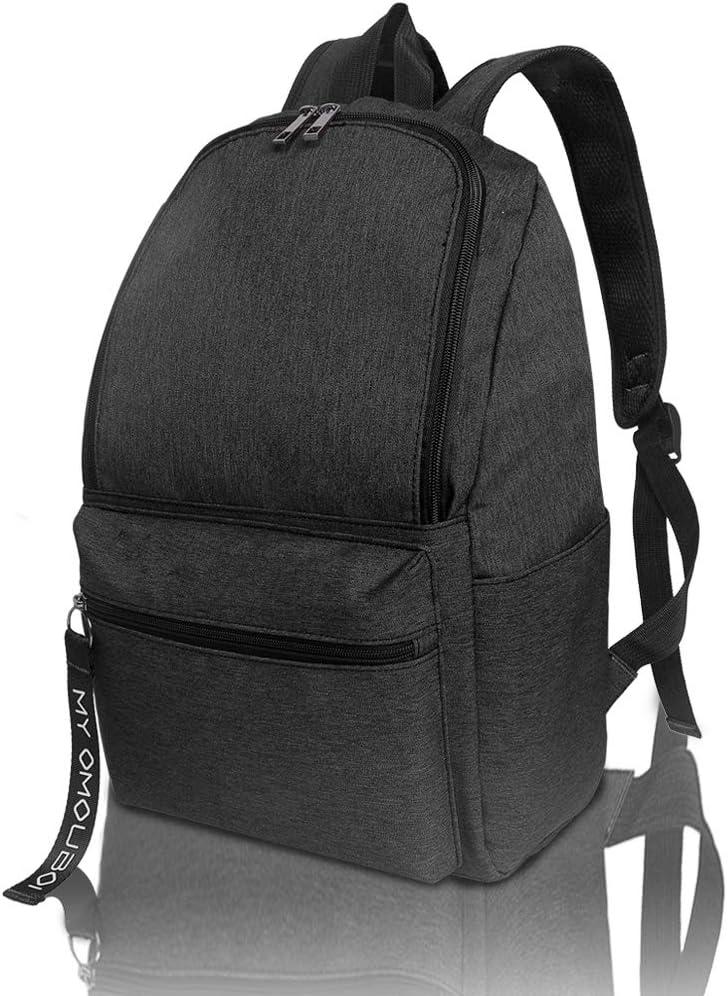 Backpack for Women, OMOUBOI 14 Inch Waterproof Laptop School Bag Travel - Black