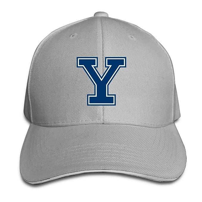 19dd1015701 Amazon.com  Yale University Primary Logo Trucker Hats Summer ...