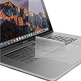 Maxku New MacBook Pro 16インチ 2019 キーボードカバー【MaxKu】 TPUキーボードカバー 透明 USキーボード 英語配列 キースキン 多色選択可能 (クリア)
