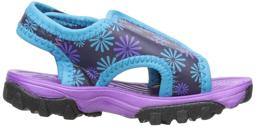 Purple//Aqua Toddler//Little Kid 7 M US Toddler Northside Haller Fisherman Sandal