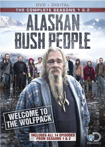 Alaskan Bush People: Season 1 & 2 [DVD + Digital] by Discovery Channel, The