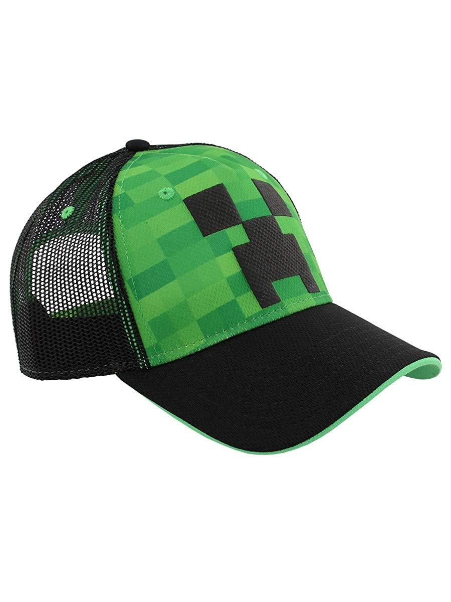 CITY TIME Minecraft Cappellino Creeper Face Baseball TimeCity Merchandising Ufficiale