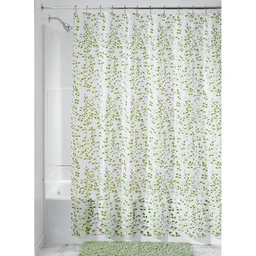 InterDesign Floral Shower Curtain 72 Inch