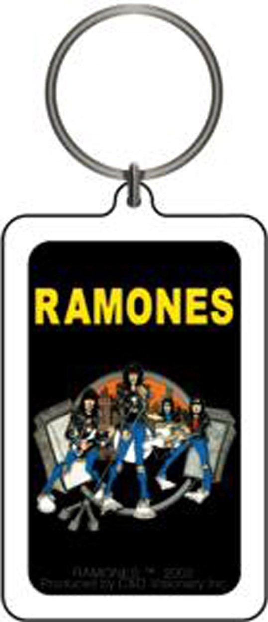 RAMONES Road to Ruin, Officially Licensed, Premium Quality Lucite KEYCHAIN Officially Licensed Merchandise & Original Artworks K-0588