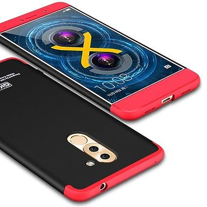 online retailer 7b6a1 7044d Amazon.com: Huawei Honor 6X Case, GKK Dual Embed Ultra Slim Knight ...