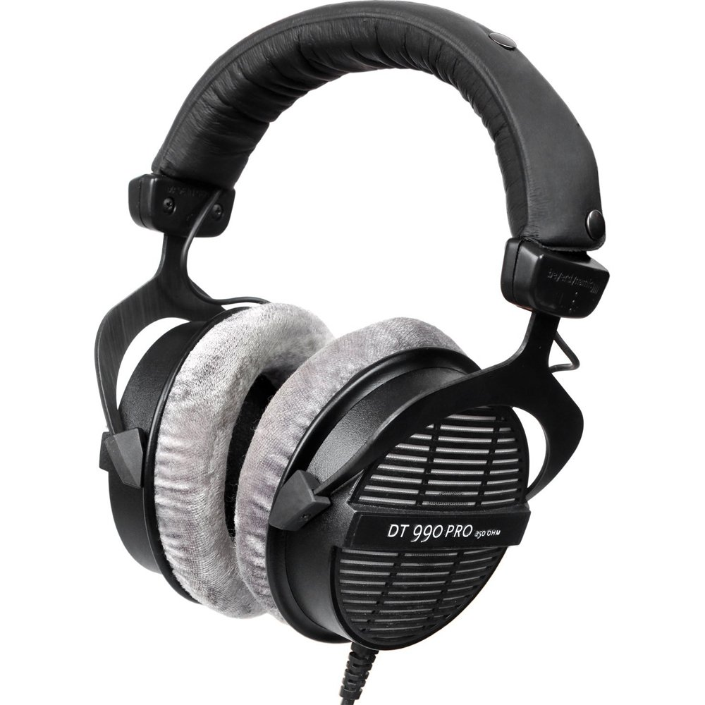 BeyerDynamic Professional Acoustically Open Headphones - 250 Ohms (DT-990-PRO-250) with Slappa HardBody Headphone Case, FiiO A1 Port Amplifier & 32GB MicroSD High-Speed Memory Card by Beach Camera (Image #5)