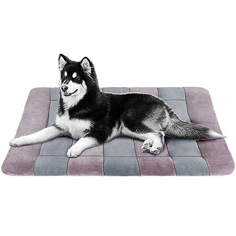 JoicyCo - Alfombrilla de Cama para Perro, Lavable, Antideslizante, Suave, para Mascotas