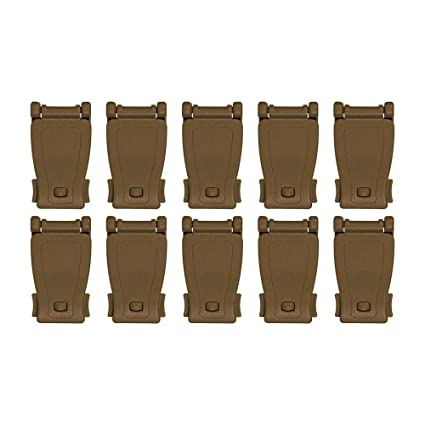 Backpack Multipurpose MOLLE Clip Tactical Strap Management Tool Web Dominator Buckle for Tactical Bag