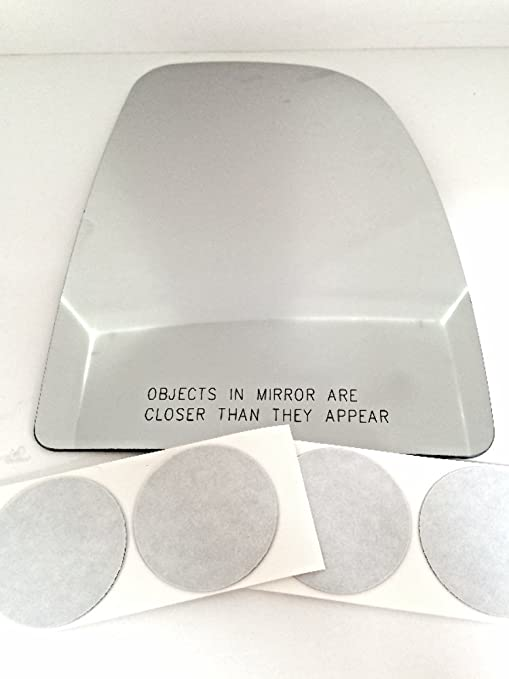 Fits 12-17 Accent Veloster Right Pass Mirror Glass Heated Lens w//adhesive