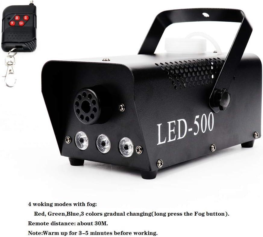 Fog Machine with RGB Light 500W Smoke Fog Machine Making Special ...