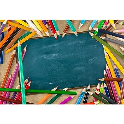 Amazon com : Baocicco 5x3ft Back to School Theme Backdrop