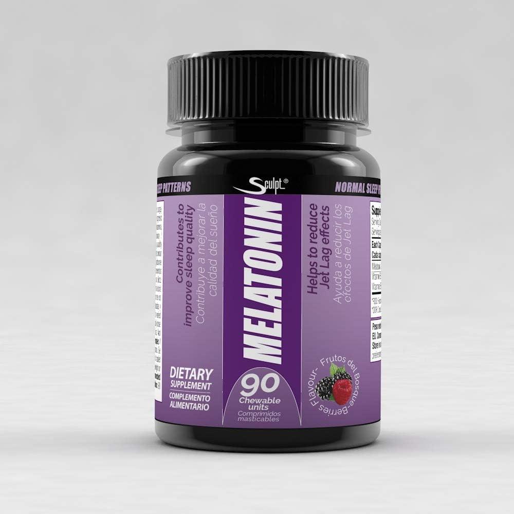 Melatonina 1,8 mg Hormona del sueño, Descanso, Jet lag, dormir ...