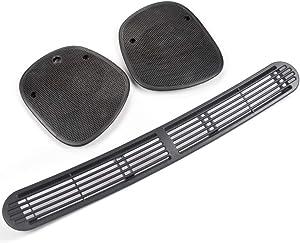 for Chevrolet Blazer S10 GMC Jimmy Sonoma Bravada 1998-2005 New Dash Defrost Vent Cover Panel + Left Right Speaker Grille Set