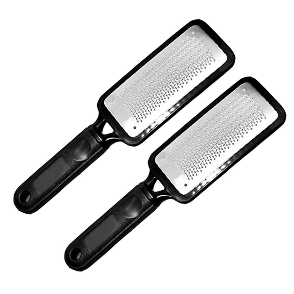 Colossal Foot Rasp Foot File And Callus Remover, Best Foot Care Pedicure Metal Surface Tool To Remove Hard Skin, Can Be Used On Both Wet And Dry Feet, Surgical Grade Stainless Steel File (1 PCS) XDeer