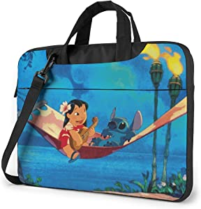 Laptop Sleeve Bag Anime Lilo Stitch Laptop Sleeve Case Cover, 15.6 inchTablet Briefcase, Notebook Sleeve Case