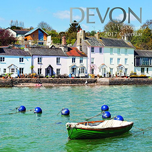 Beautiful Scenic Images of Devon England 2017 Monthly Wall Calendar, 12