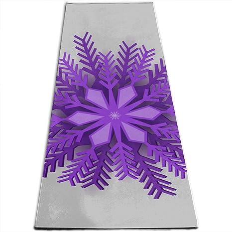 Amazon.com : CKDDG Kids Yoga Mat Violet Christmas Origami ...