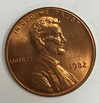 SMALL DATE ZINC 1982 D LINCOLN CENT HAND PICKED GEM RED UNCIRCULATED