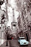 GB Eye Paris Red Girl Poster
