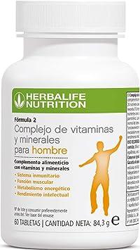 Herbalife complejo de vitaminas y minerales para hombres: Amazon.es: Deportes y aire libre