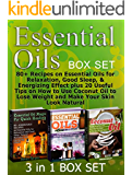 Essential Oils Box Set: 80+ Recipes on Essential Oils for Relaxation, Good Sleep, & Energizing Effect plus 20 Useful Tips on How to Use Coconut Oil to ... oils for beginners, coconut oil miracle)