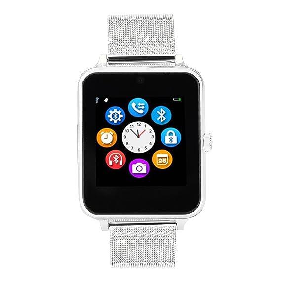 Amazon.com: Z60 Plus Smart Watch Phone Pedometer Sedentary ...