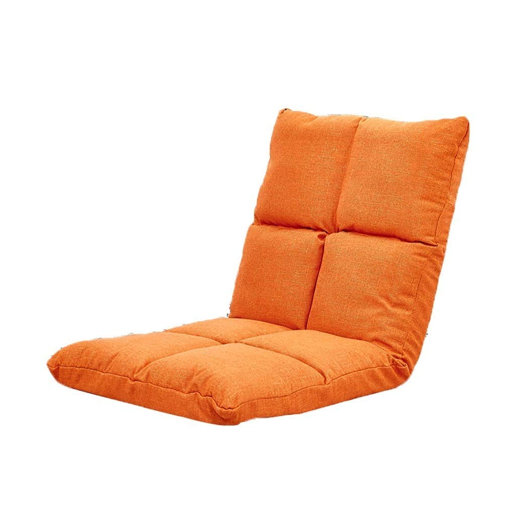 orange Meditation Chair, Foldable Single Lounge Chair Household Floor Seating Lazy Couch Chair,Multi-color Optional (color   Green)