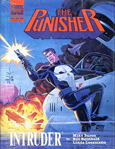 PUNISHER - INTRUDER HC Graphic novel, NM, 1989, 1st, TPB, more GN in store